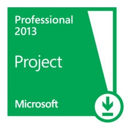 Microsoft Project Professional 2013 PL 1PC ESD