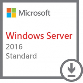 Microsoft Windows Server 2016 Standard 64bit 16 Core PKC PL