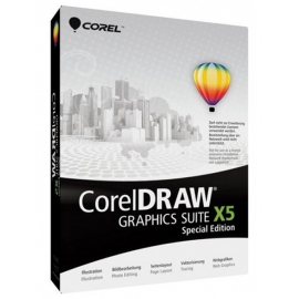 CorelDraw X5 Graphics Suite Special Edition 1PC BOX EN/PL