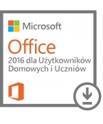 Microsoft Office 2016 Dom i Uczeń (Home and Student) PL