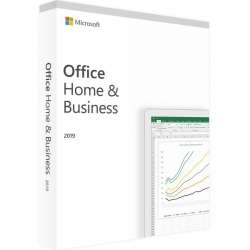 Microsoft Office 2019 Dom i Firma (Home and Business) Mac PL