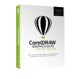 CorelDraw Graphics Suite Special Edition 2018 BOX 1PC PL