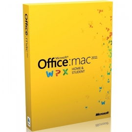 Microsoft Office 2011 Home and Student 1PC MAC PKC PL