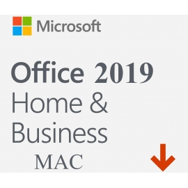 Microsoft Office 2019 Dom i Firma (Home and Business) Retail Mac/Win PL