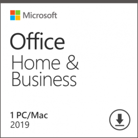 Microsoft Office 2019 Dom i Firma (Home and Business) Win/Mac PL