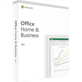 Microsoft Office 2019 Dom i Firma (Home and Business) BOX Win/Mac PL