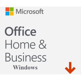 Microsoft Office 2019 Dom i Firma (Home and Business) Retail Win/Mac PL