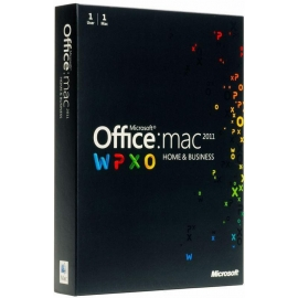 Microsoft Office 2011 Home and Business 1PC MAC PKC PL