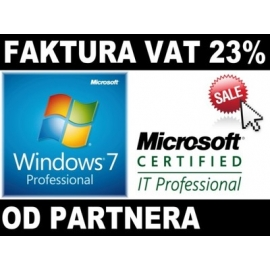 MS Windows 7 Professional 32/64Bit SP1 Microsoft Partner COA PL