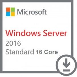 Microsoft Windows Server 2016 Standard 64bit 16 Core PL