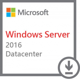 Microsoft Windows Server 2016 Datacenter 64bit 2 Core Retail PL
