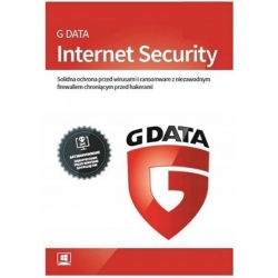 G Data Internet Security 3PC 3 Lata PL